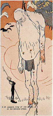 Loincloth Painting - Leopold II (1835-1909) by Granger