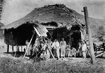 Segregation Photograph - Lepers In The Philippines by National Library Of Medicine