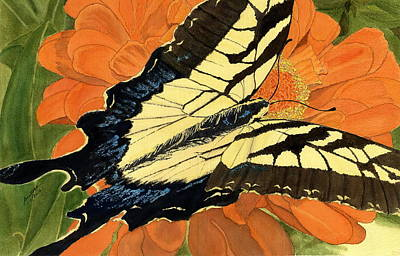 Painting - Lepidoptery by Joel Deutsch