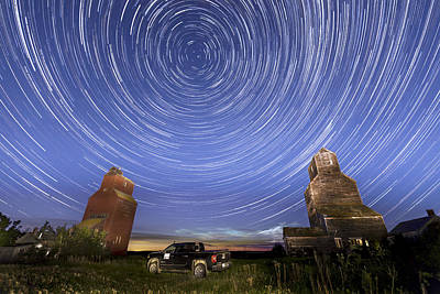 Photograph - Lepine Star Trails by Gerald Murray Photography