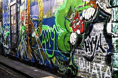 Photograph - Leprechaun Graffiti by John Rizzuto