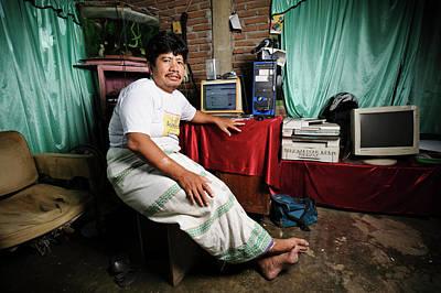 Medicine Man Photograph - Leprosy Settlement Resident by Matthew Oldfield