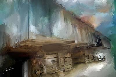 Lequire Cantilever Barn Art Print