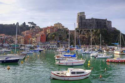 Ligurian Sea Photograph - Lerici by Joana Kruse