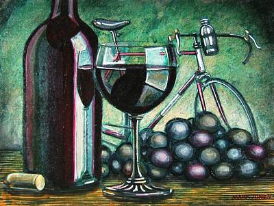 Brake Painting - L'eroica Still Life by Mark Jones