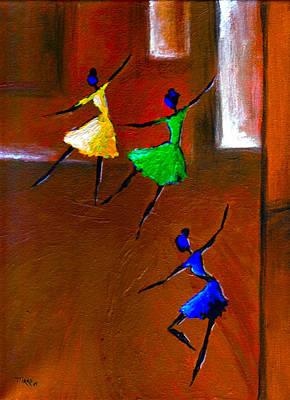 Les Ballerines Art Print by Mirko Gallery