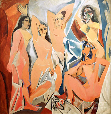 Museum Of Modern Arts Photograph - Les Demoiselles D'avignon Picasso by RicardMN Photography