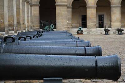 Ornate Photograph - Les Invalides - Paris France - 011312 by DC Photographer