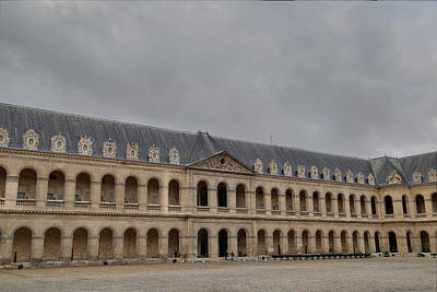 Building Photograph - Les Invalides - Paris France - 011317 by DC Photographer
