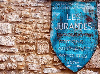 Les Jurandes Bonaguil Art Print