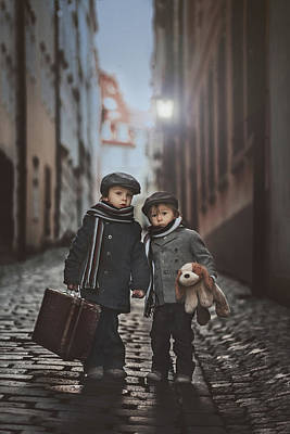 Holding Hand Photograph - Les Misa?rables by Tatyana Tomsickova