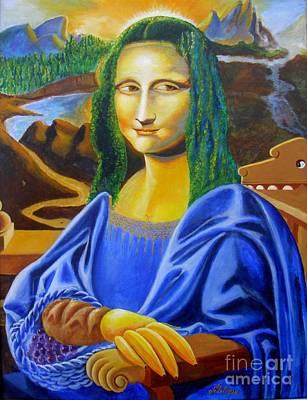 Les Mysteres Jocondais Au Code De Vinci   L E P I H Art Print
