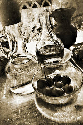 Photograph - Les Olives by Selke Boris