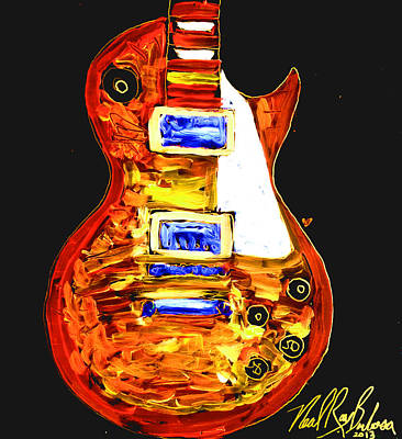 Les Paul 111 Art Print