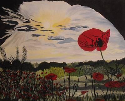 Landscapes Kadek Susanto - Lest We Forget by Bonnie Boerger
