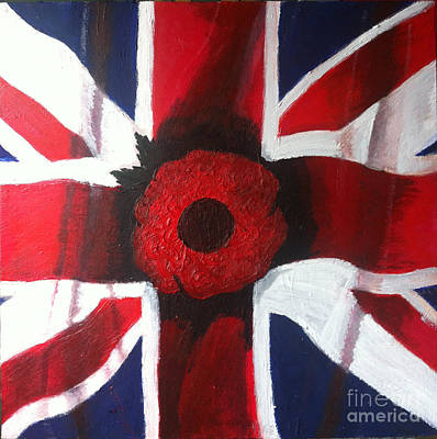 Painting - Lest We Forget by Michelle Deyna-Hayward