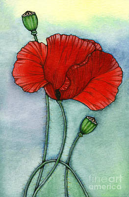 Painting - Lest We Forget by Nora Blansett