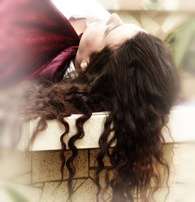 Photograph - Let Down Your Hair by Nadalyn Larsen