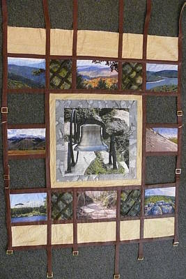 Tapestry - Textile - Let Freedom Ring by Tracie L Hawkins