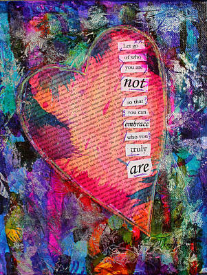 Let Go Art Print by Kim Thompson
