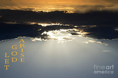 Let God Arise Art Print