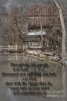 Photograph - Let God by Sandra Clark