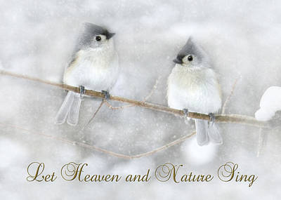 Titmouse Digital Art - Let Heaven And Nature Sing by Lori Deiter