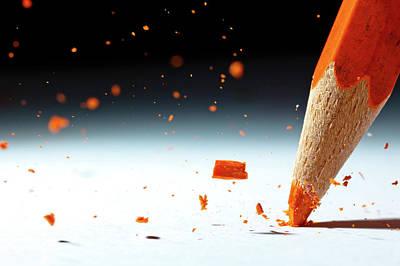 Pencil Photograph - Let It Rain by Christophe Kiciak