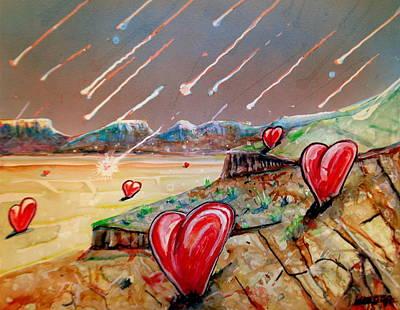 Painting - Let It Rain by Steven Holder