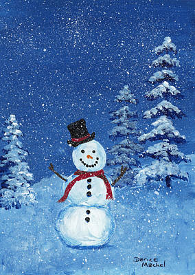 Painting - Let It Snow by Darice Machel McGuire
