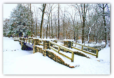 Photograph - Let It Snow Let It Snow by Kay Novy