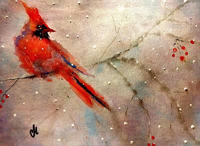 Let It Snow..let It Snow.. Art Print by Cristina Mihailescu