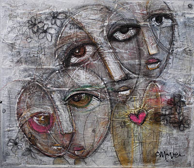 Painting - Let Love Consume You by Laurie Maves ART