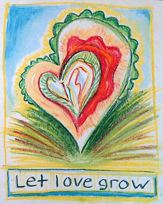 Pastel - Let Love Grow by Racquel Morgan