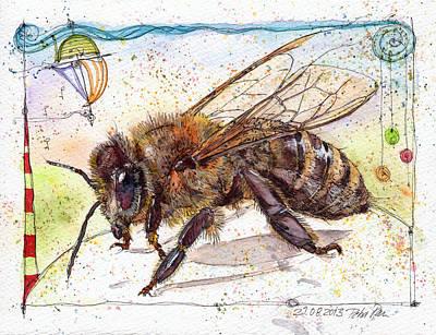 Let Me Bee. Original by Petra Rau