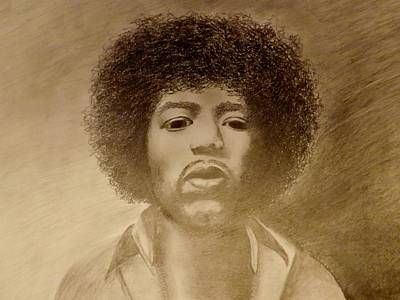 Afro American Art Drawing - Let Me Stand Next To Your Fire by Elizabeth Sullivan