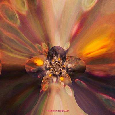 Inner Self Digital Art - Let Self-love Enhance Your Inner Beauty by Tanya Levy