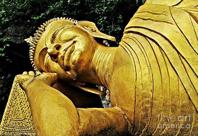Photograph - Let Sleeping Buddha Lie by Ethna Gillespie