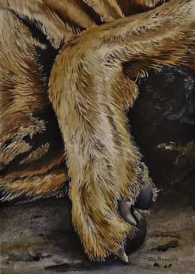 Painting - Let Sleeping Dogs Lie by Joy Bradley