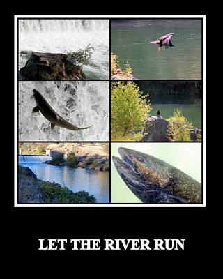 Photograph - Let The River Run by AJ  Schibig