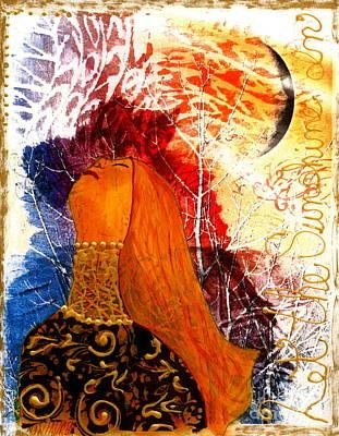 Emotion Mixed Media - Let The Sunshine In by Nancy TeWinkel Lauren