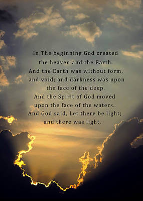 Silver Lining Photograph - Let There Be Light by David and Carol Kelly
