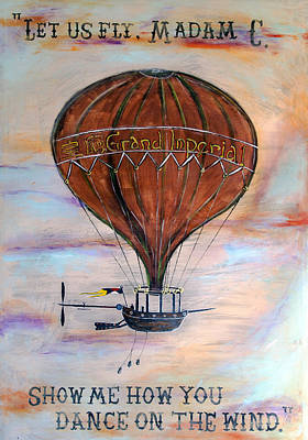 Painting - Let Us Fly by Curtis Rose