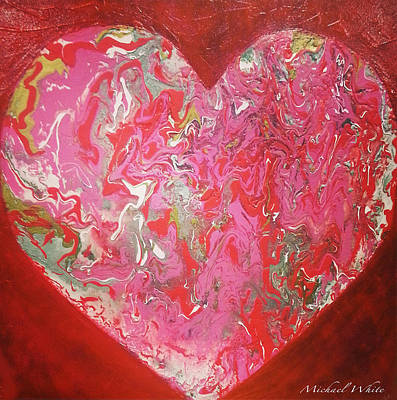 Let Your Heart Shine Original by Michael White Designs
