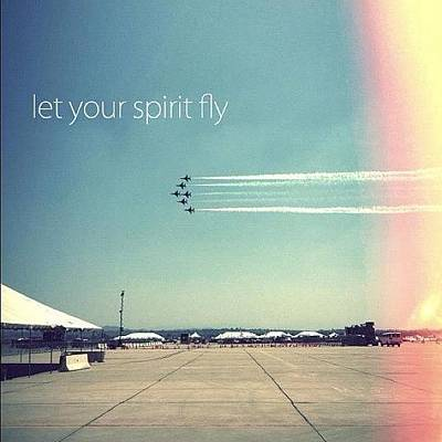 Jet Photograph - Let Your Spirit Fly by Brandon Weller