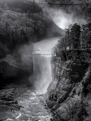Photograph - Letchworth In Winter by Joshua House