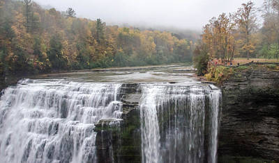 Photograph - Letchworth State Park  7d07551 by Guy Whiteley