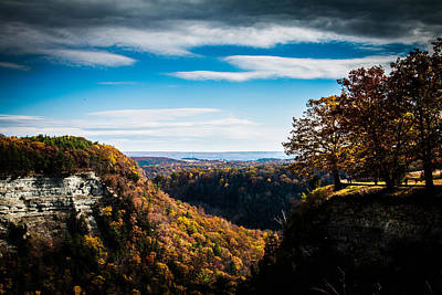 Photograph - Letchworth State Park by Sara Frank