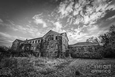 Letchworth Village Morgue Bw Original