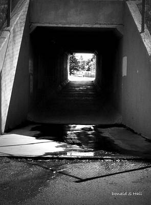 Lethbridge Underpass Art Print by Donald S Hall